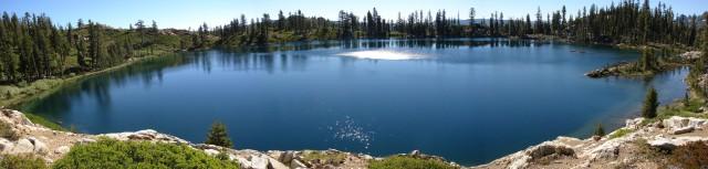 Panoramic View: Deer Lake