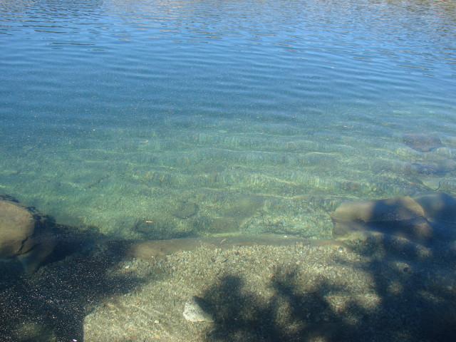 The waters of Deer Lake