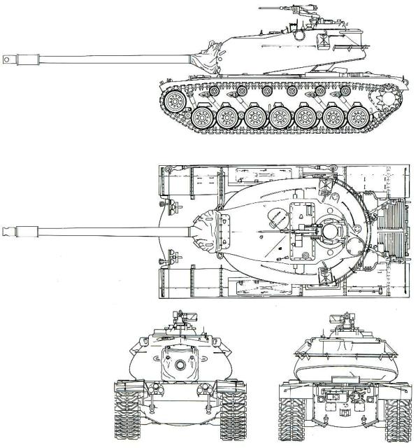 М103(а значит и Т110).
