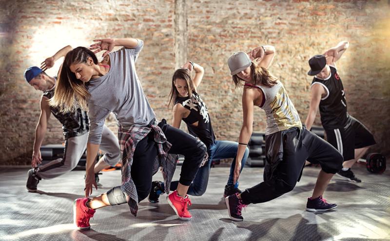 Танцевальный марафон от Alex Fitness в бизнес-центре «Нагатинский»