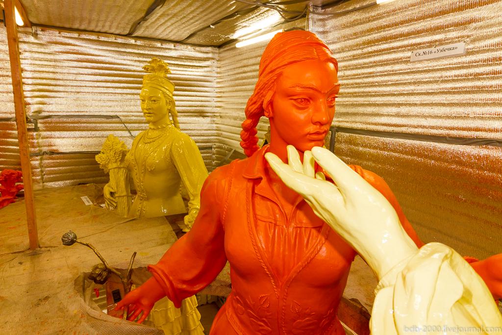 Как проходит и когда завершится реставрация фонтана «Дружба народов» на ВДНХ