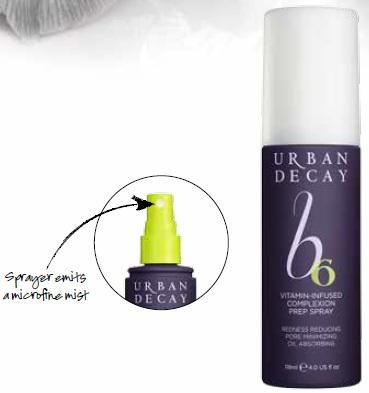Urban Decay B6 Vitamin Infused Complexion Prep Spray