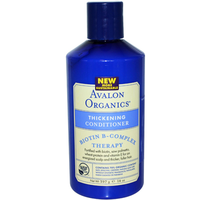 Avalon Organics, Biotin B-Complex Therapy, Thickening Shampoo Отзыв. Review