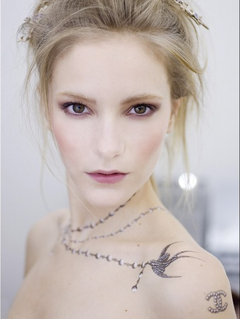 Chanel Temporary Skin Art Tattoos