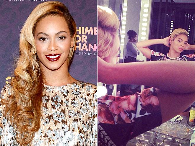 Beyoncé стрижка