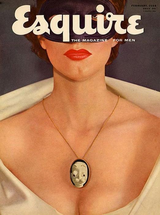 Женщины на обложках Esqiure с 30-х годов до нашего времени