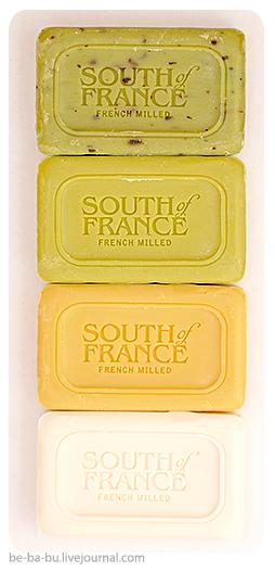 Кусковое мыло от South of France, Nubian Heritage, Stenders. Отзыв, обзор.