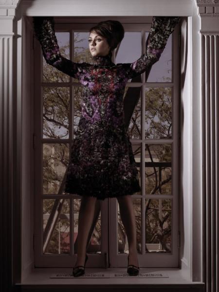 Тенденции: 60-е. Мила Кунис в W Magazine August 2014