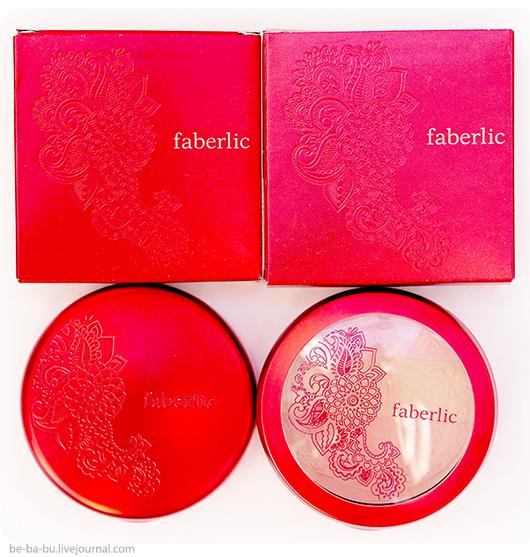Faberlic: тени для век