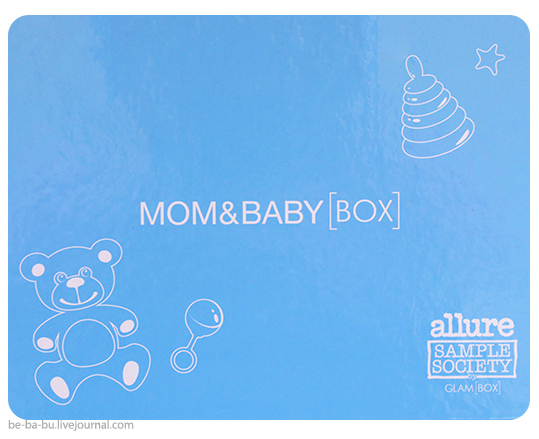 Allure Sample Society by GlamBox. Mom & Baby Box. Обзор, отзыв.