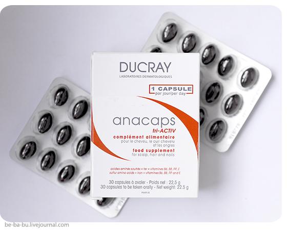 Витамины Ducray Anacaps Tri-Activ и Madre Labs, Omega-3 Premium Fish Oil. Обзор, отзыв.