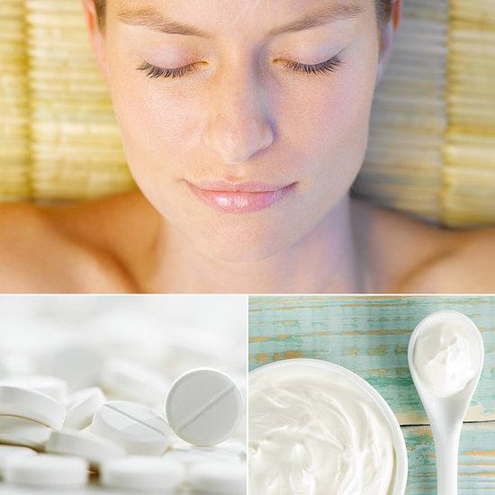 Делаем SOS-маску для лица с аспирином. Рецепт.