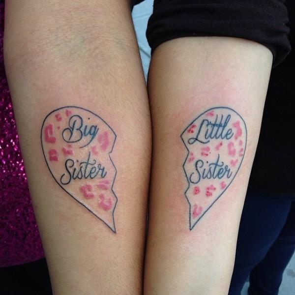 Татуировки для сестер: креативные идеи