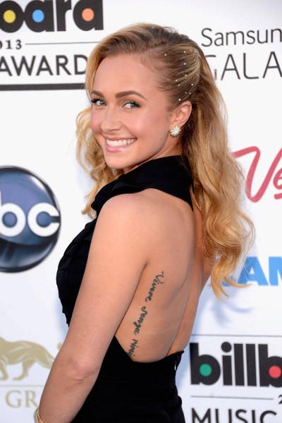 Самые воодушевляющие фразы-татуировки звезд