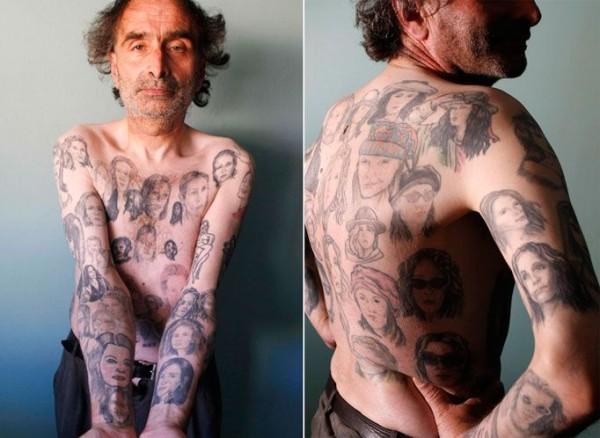 82 татуировки с образом любимого киногероя - на что толкает людей страсть к прекрасному