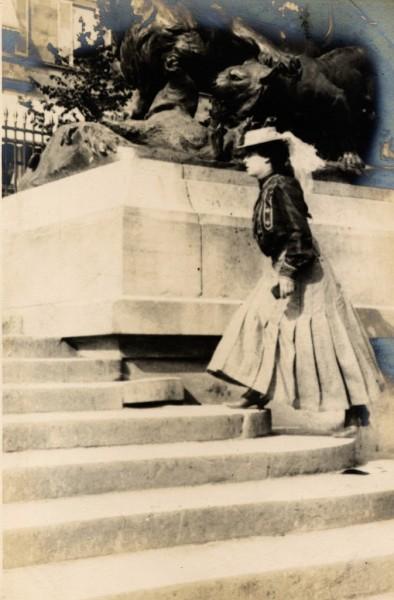 Парижский street-style 1906 года