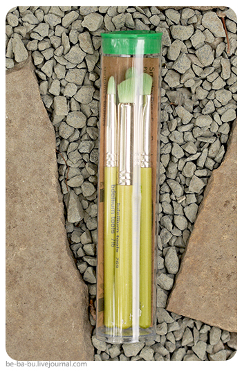 Bdellium Tools, Green Bambu Series, Smoky Eyes, 5 Piece Brush Set. Обзор, отзыв.
