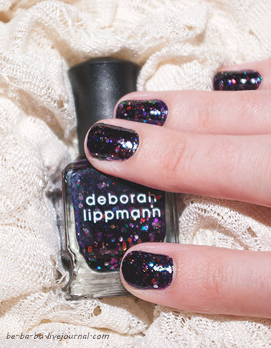 Deborah Lippmann Ruby Red Slippers и Let's Go Crazy. Отзыв. Свотчи. Review Swatches
