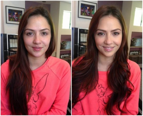 Почему любой визажист лучше фотошопа: макияж до и после