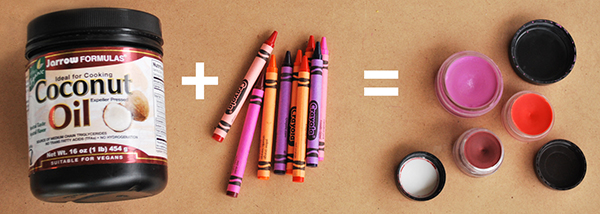 Как сделать помаду из карандашей для рисования
