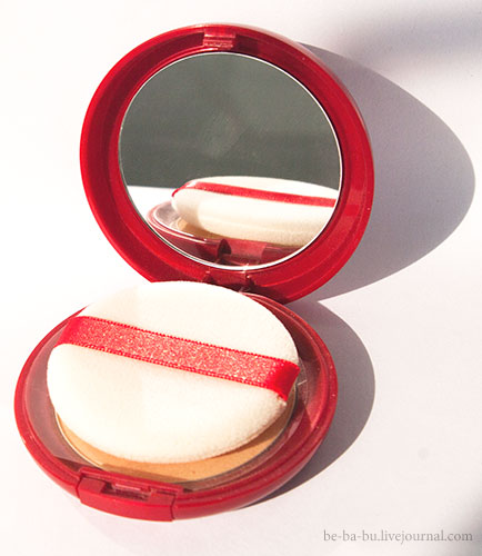 Sana. Pore Putty Face Powder N SPF 35 PA++ (Red). Отзыв. Review