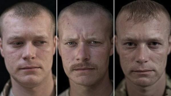 Как война изменяет внешность человека