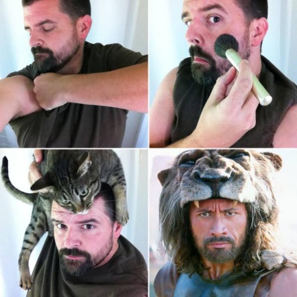 Makeup Transformation - пародии на изменение внешности при помощи макияжа