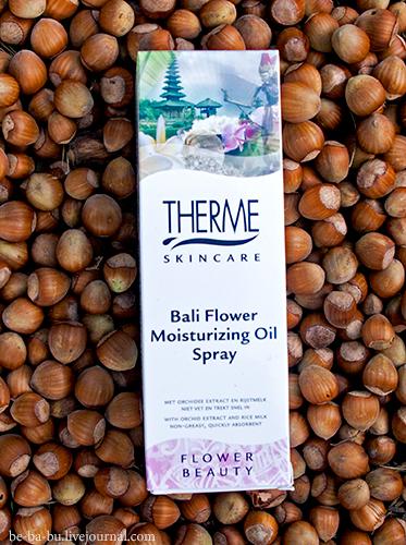Therme Skincare White Lotus Body Serum, Bali Flower Moisturizing Oil Spray. Отзыв.