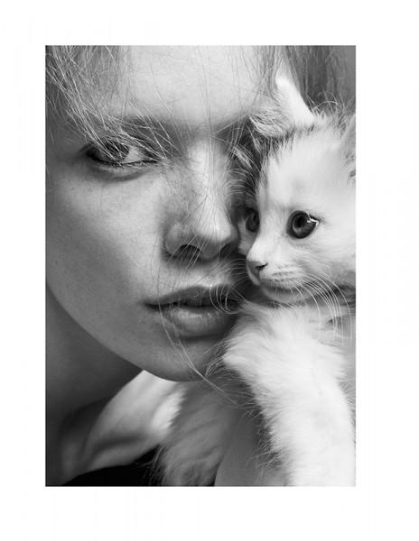 Тренд: фотосъемка с животными в глянце