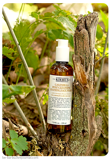 Kiehl's Calendula Deep Cleansing Foaming Face Wash. Отзыв, обзор, состав. Ingredients