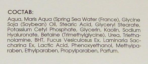 крем-маска увлажняющая с гиалуроновой кислотой и морскими экстрактами на основе термальной воды Spring Sea Water от Кора Отзыв