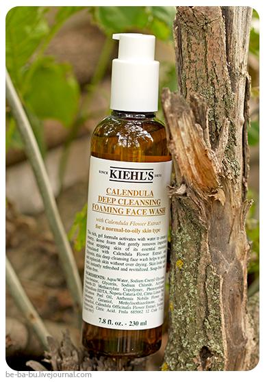 Kiehl's Calendula Deep Cleansing Foaming Face Wash. Отзыв, обзор, состав. Ingredients