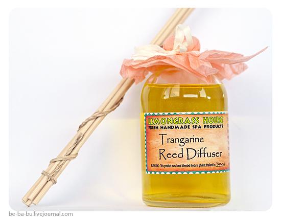 Lemongrass House - Тростниковый диффузор Танжерин. Отзыв, обзор.