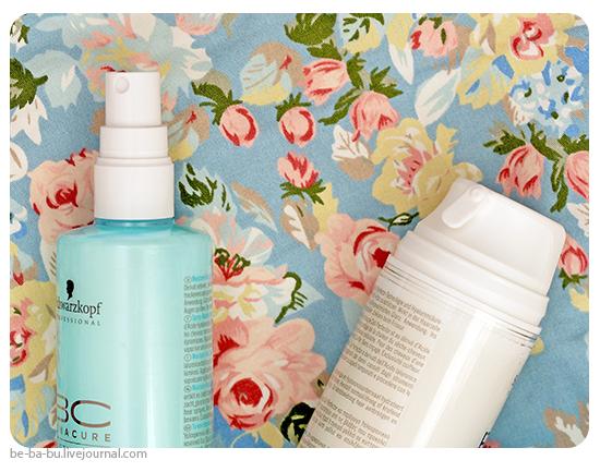 Schwarzkopf Professional BC Bonacure Moisture Kick Beauty Balm, Spray Conditioner. Отзыв, обзор, состав.