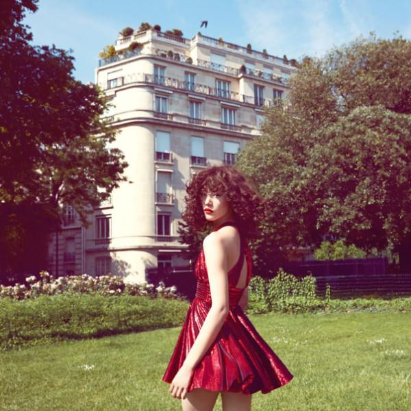 Тенденции: красный. Vogue China October 2014