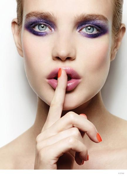 Необычный макияж от Натальи Водяновой