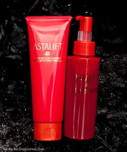 Astalift Complete Makeup Remover Oil и Astalift Moisture Foam Cleanser. Отзыв.