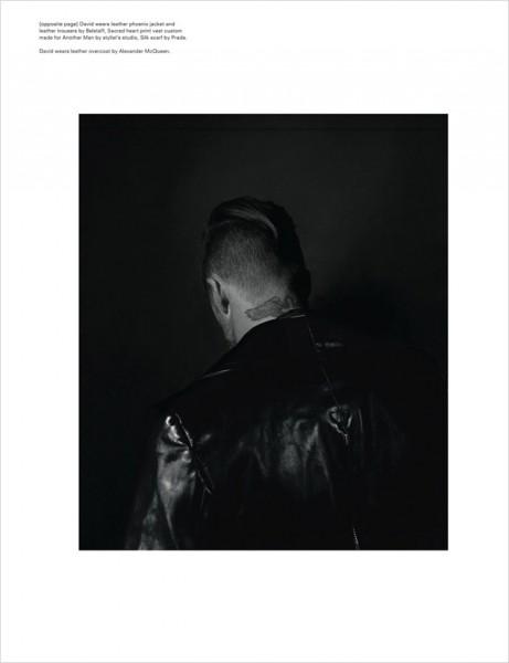 Смешная, странная и красивая фотосессия Дэвида Бэкхэма в AnOther Man
