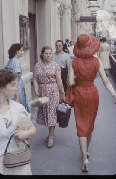 показ Christian Dior в СССР