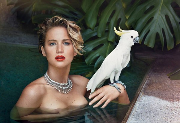 Совершенно невероятная Дженнифер Лоуренс в Vanity Fair