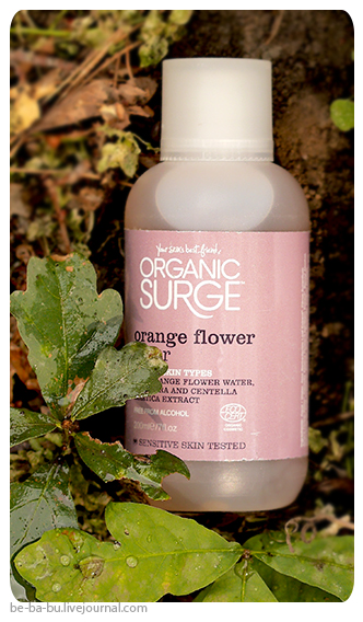100% Pure - Coffee Bean Eye Cream, Organic Surge - Orange Flower Toner. Обзор, отзыв. Review