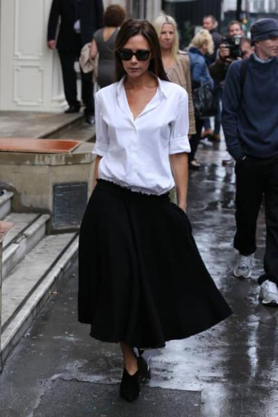 Почему Виктория Бекхэм не любит улыбаться на публике