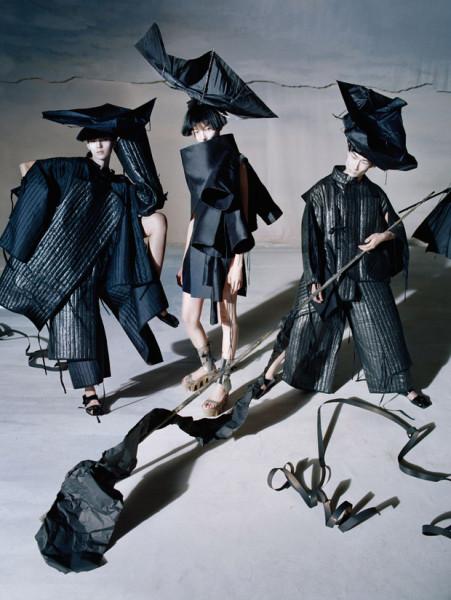 Когда мода становится искусством: декабрьский Vogue China