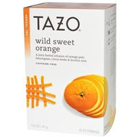 Tazo Teas, Wild Sweet Orange, Herbal Tea. Отзыв.