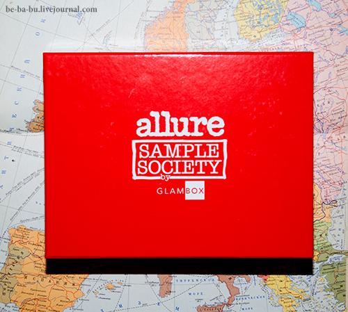 Allure Sample Society by Glambox N10. Обзор.