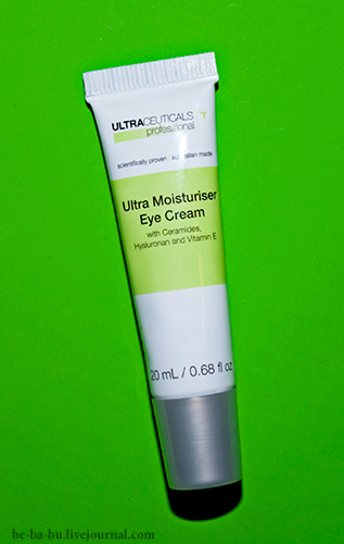 Ultraceuticals - Ultra Moisturiser Eye Cream. Отзыв. Review