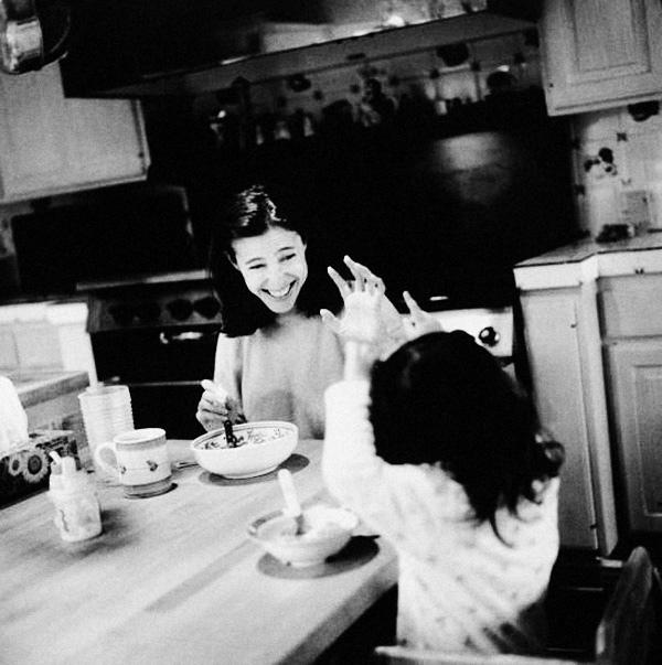 женщины утром знаменитости фотографии
