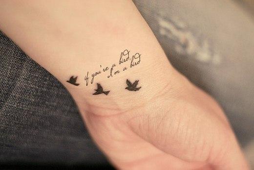 Популярные фразы для татуировок