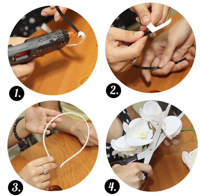 Своими руками как сделать ободок