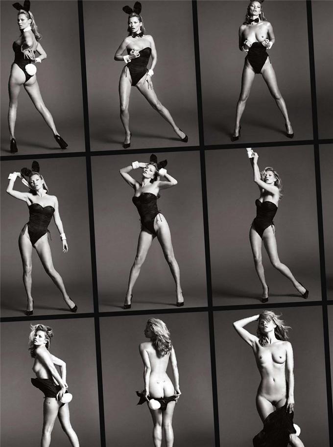 Кейт Мосс на обложке юбилейного Playboy